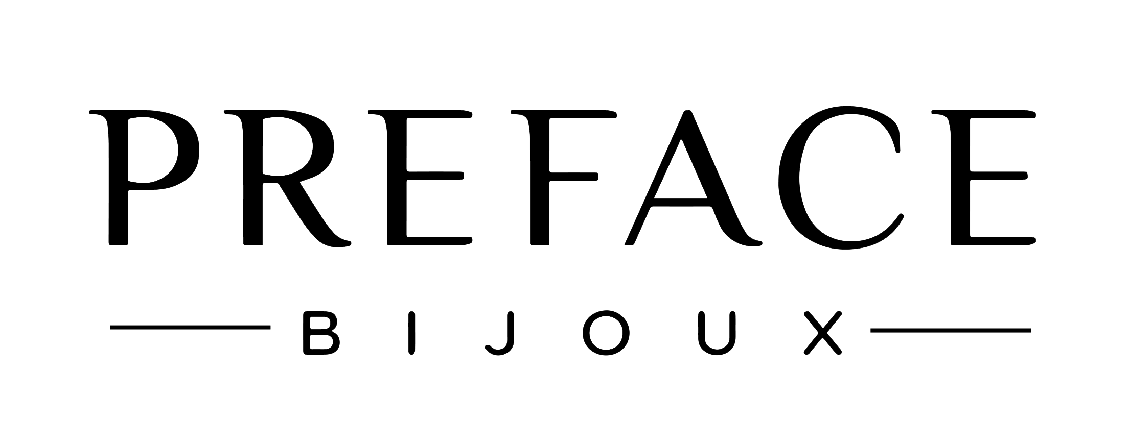 Logo Preface Bijoux